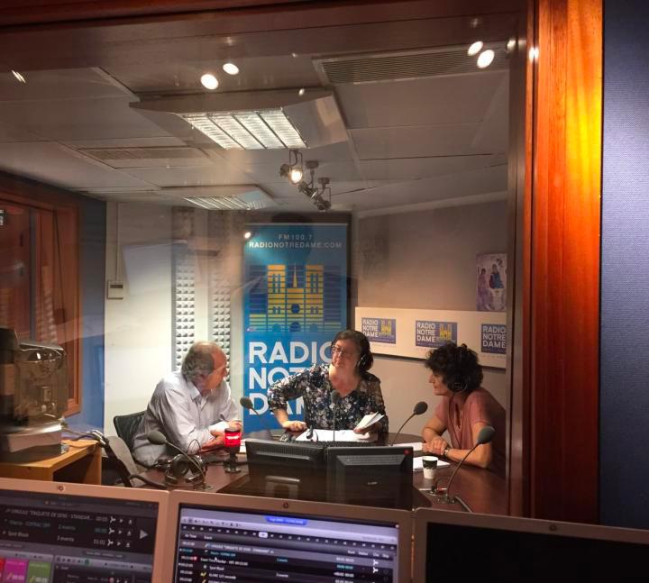 Interview à la radio Notre Dame - Hyme - HYPNOSE ET MEDITATION